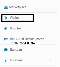 Indodax wallet