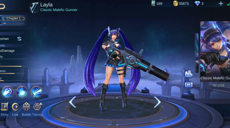 Layla Mobile Legends