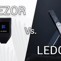 Ledger vs trezor perbandingan secara detail