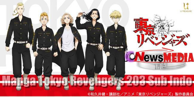 Manga Tokyo Revengers 203 Sub Indo