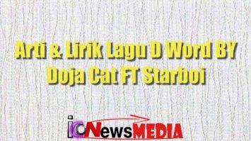 Arti & Lirik lagu d Word by doja cat ft Starboi