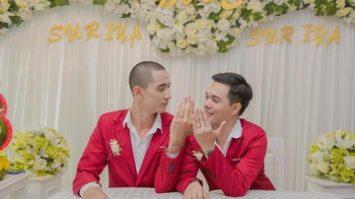 Pernikahan Gay DI Thailand | Suriya Koedsang Yang Sedang Viral
