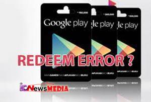 Cara Mengatasi Tidak Bisa Menukarkan Kode Google Play Terbaru 2021